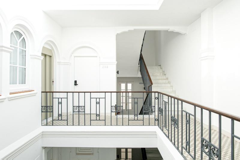 fotografía de arquitectura casa sevilla 1920 suites