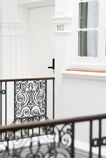 detalle rehabilitación casa sevilla 1920 suites