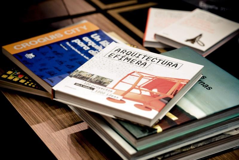 fotografía de de espacios interiores para librerías