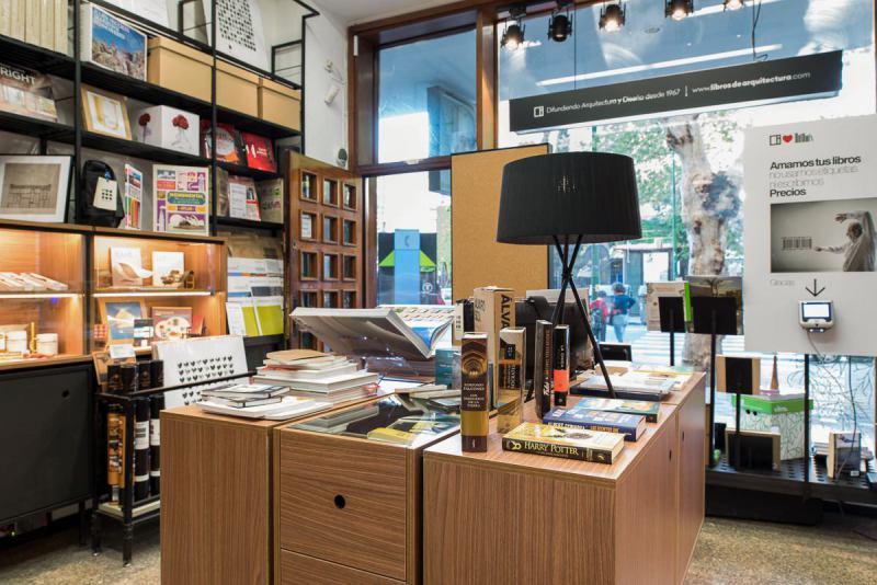 fotos interior librería reina mercedes