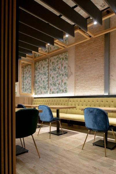 fotógrafa de arquitectura interior restaurante Macorina