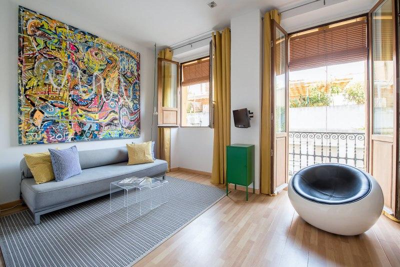 foto interior apartamento turístico