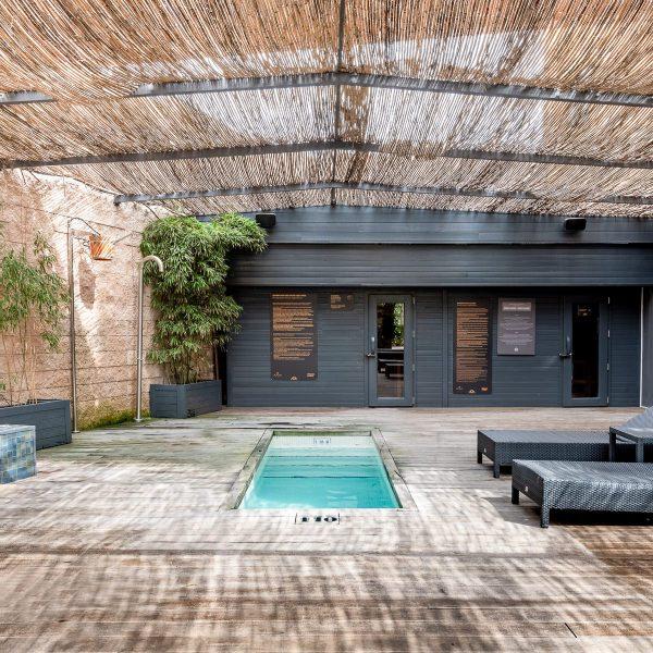 fotografía inmobiliaria para resort en Huelva