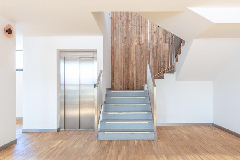 fotografía de arquitectura residencia universitaria youniq
