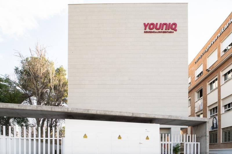 fotografía residencia universitaria youniq